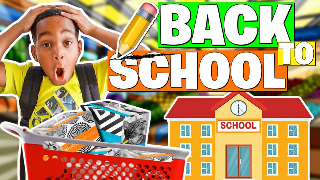 SURPRISING DJ WITH A BACK TO SCHOOL SHOPPING SPREE | THE PRINCE FAMILY CLUBHOUSE