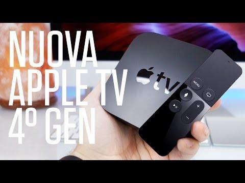 Nuova Apple TV di 4° Generazione – Unbox e recensione in italiano