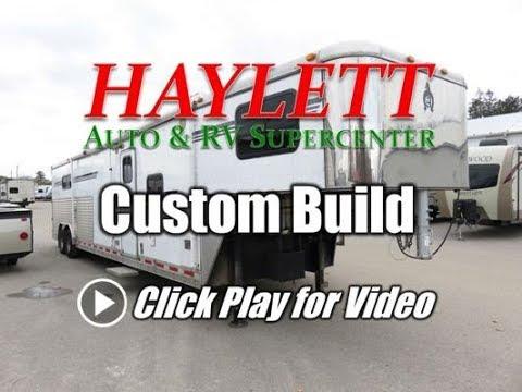 2005 Adam Custom Build with 16ft Shortwall Super Slide Living Quarters