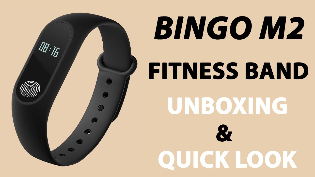 15a73d18478 bingo m2 Fitness Band Unboxing - YouTube