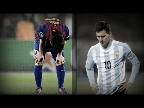 Lionel Messi ● Top 10 Performances at Defeats/Losses