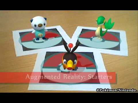 First 3DS Pokemon game - Pokedex 3D - New pictures showcase augmented reality!