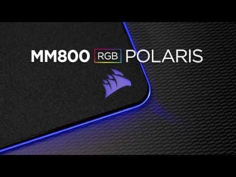 CORSAIR RGB Mouse Pad - MM800 RGB POLARIS