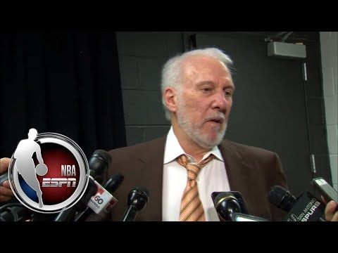 Gregg Popovich gets fiery with media after ejection and Spurs loss to Warriors | NBA on ESPN