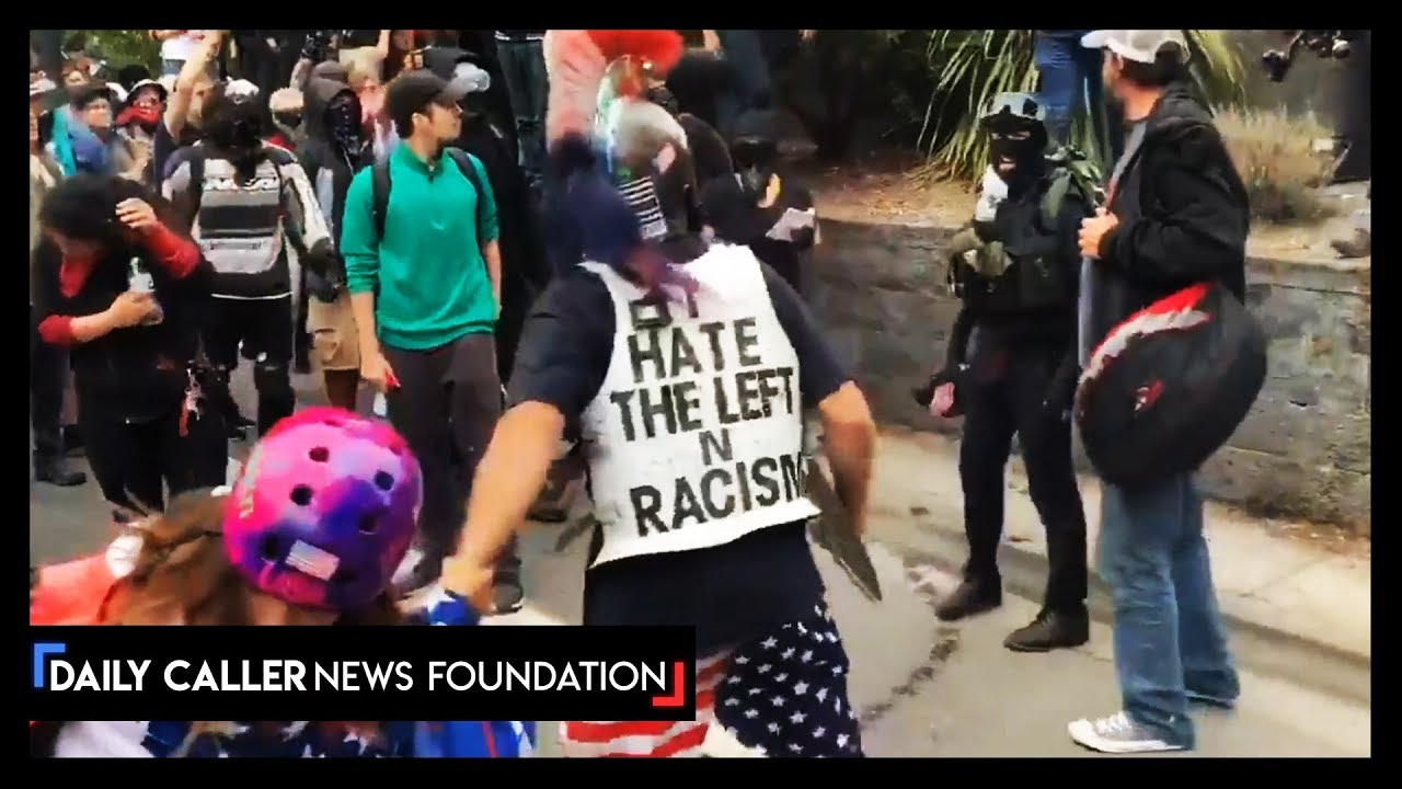 DC Shorts Proud Boys Went To Portland - Watch The Backlash