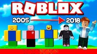 ЭВОЛЮЦИЯ РОБЛОКСА 2005 2018! Как выглядел ROBLOX раньше - ожидание и реальность  #КИД