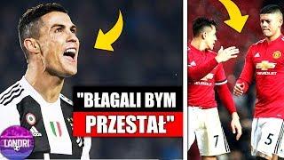 Ronaldo OSTRO o piłkarzach ROMY! Zakład o ZWOLNIENIE Mourinho!