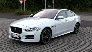 2016 Jaguar XE 20d R-Sport AWD (180 HP) TEST DRIVE | by TEST DRIVE FREAK