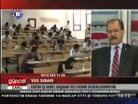 Eğitim İş Genel Başkanı Veli Demir  Halk Tv ve Kanal B'de Gündemi Değerlendirdi