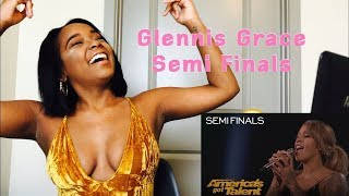 Glennis Grace  Singer Performs Powerful 'This Woman's Work' America's Got Talent | REACTION MASHUP!!