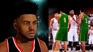Nba 2k16 mycareer - new 6'4 athletic point guard freddy banks creation ! | first high school game !