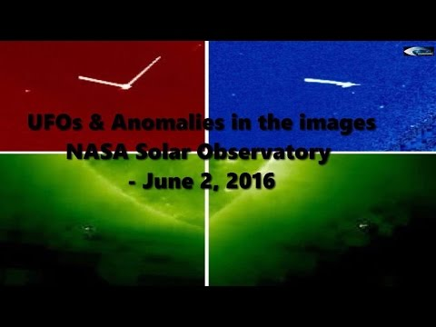 UFOs & Anomalies in the images NASA Solar Observatory - June 2, 2016