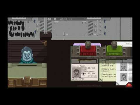 Nerd³'s Lowkey Stream - Glory To Arstotzka - Papers Please - 26th June 2017 - Featuring Rebecca