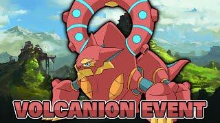 VOLCANION! POKEMON X & Y - VOLCANION EVENT & INGAME BATTLE GAMEPLAY! [VOLCANION EVENT DEUTSCH]