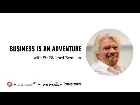 Business Is An Adventure: Richard Branson + Top LA Entrepreneurs