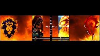 Pandaren Burning Fire Spirit Anubisath ONE SHOT HD