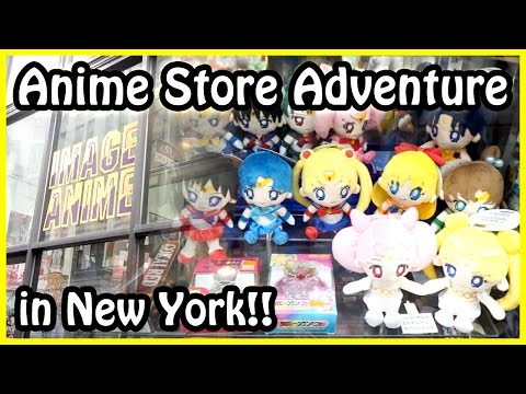 Anime Store Adventure In New York - Anime Toy Vlog!
