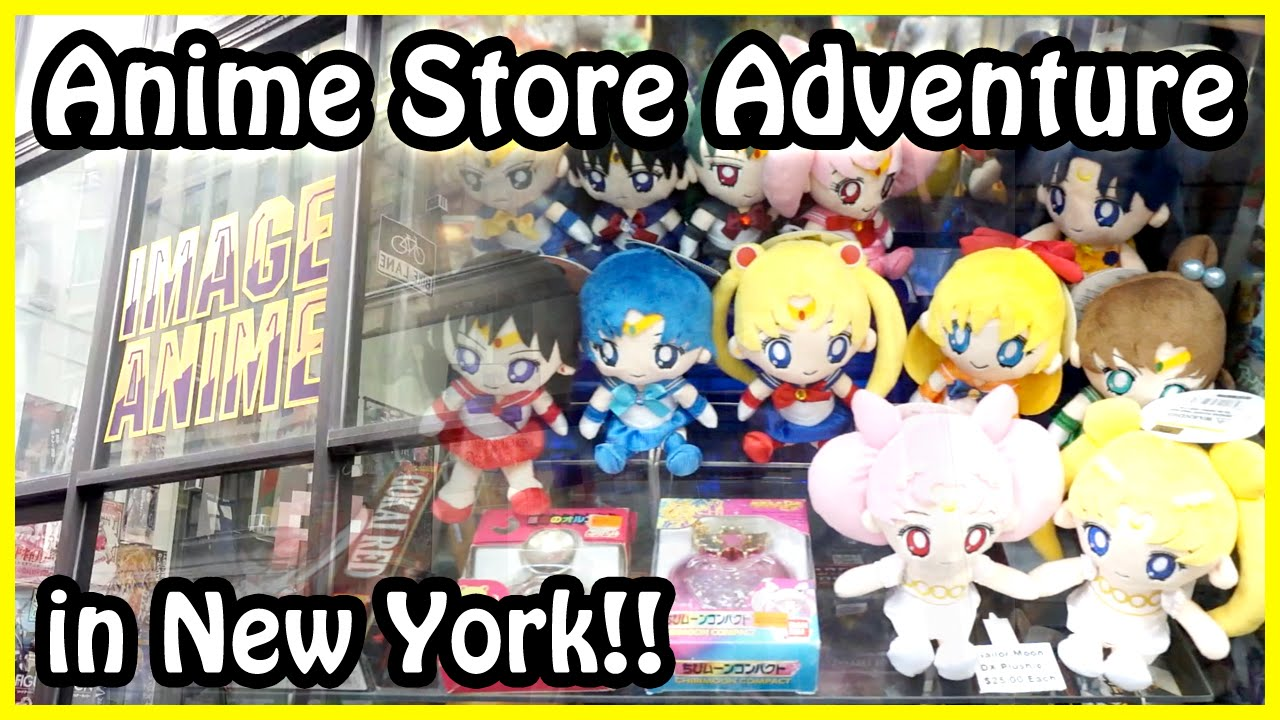 Anime Stores In New York