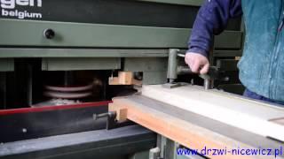 Produkcja drzwi zewnętrznych maksymalnie ocieplonych oraz drzwi wewnętrznych.