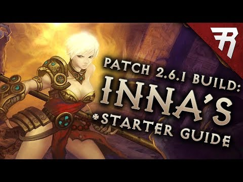 Diablo 3 2.6.1 Monk Build: Starter & Inna GR101+ & Speed (Guide, Season 14)
