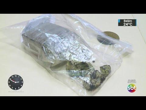 Polícia fecha tabacaria e prende três pessoas por tráfico de drogas   SBT Notícias (30/05/18)