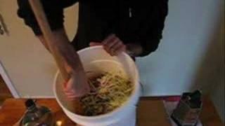 Making Homemade Sauerkraut