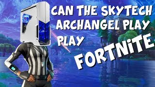 Can The SkyTech Archangel Ryzen 3 1200 & GTX 1050Ti play Fortnite? Skytech Archangel Review