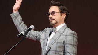 Robert Downey Jr. speaks Russian (The Avengers Movie Russian Premiere)