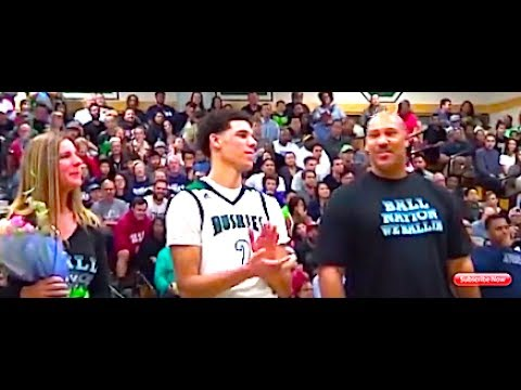 Before The NBA Draft 🔥🔥 Lonzo Ball - Chino Hills (CA) Senior Year High School Highlights
