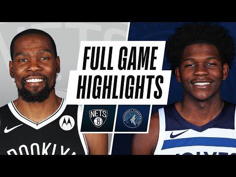Game Recap: Nets 127, Timberwolves 97