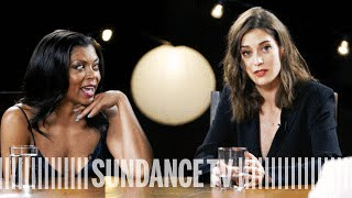 lizzy caplan taraji p henson more on guilty tv pleasures close up with the hollywood reporter