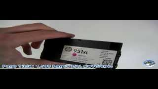 Inside HP 951XL Magenta Ink Cartridge CN047AE