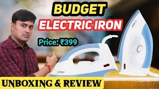 Flipkart Smart Buy 1000W Dry Iron Best Electric Iron In 2020 Flipkart Smart Buy Iron Unboxing