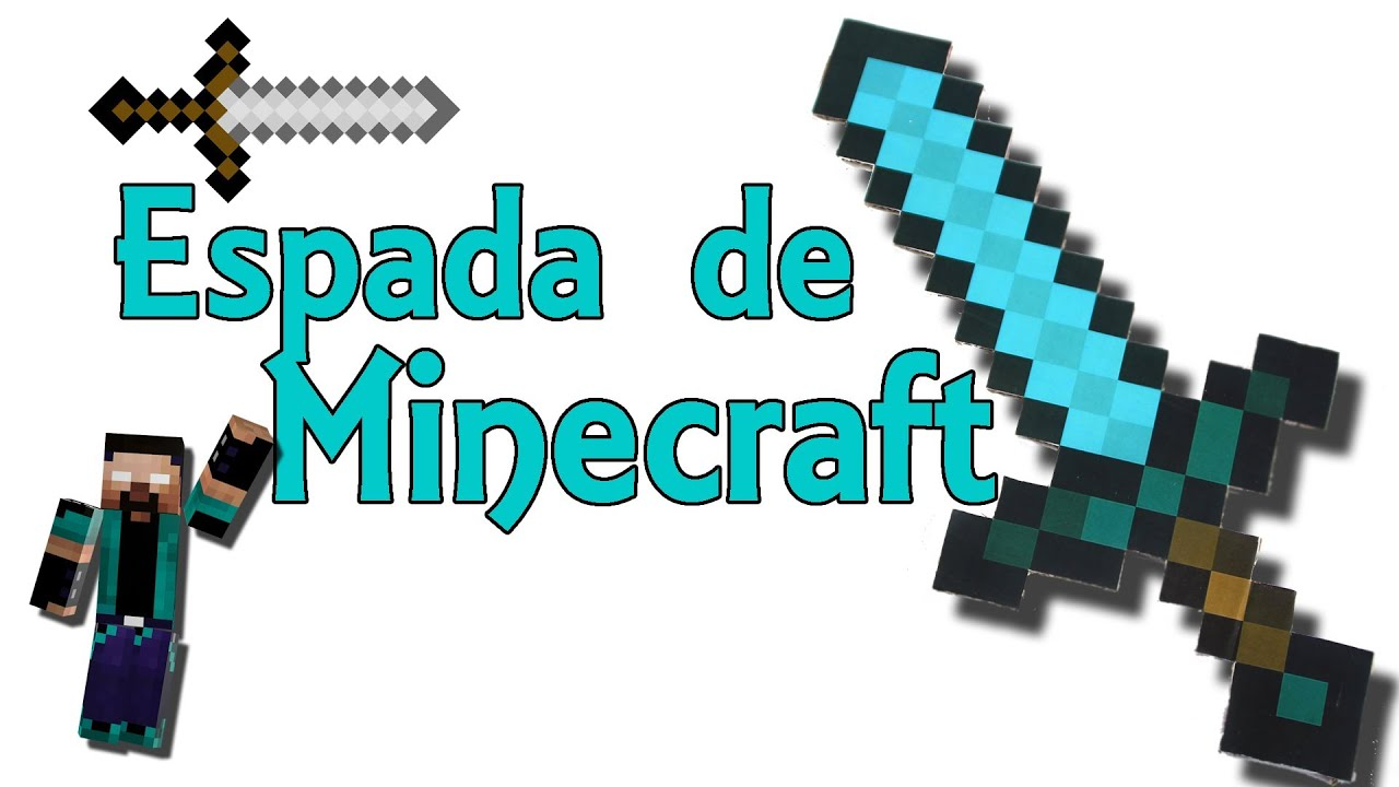 espada de minecraft real de diamante minecraft en la vida real experimentos caseros youtube. Black Bedroom Furniture Sets. Home Design Ideas