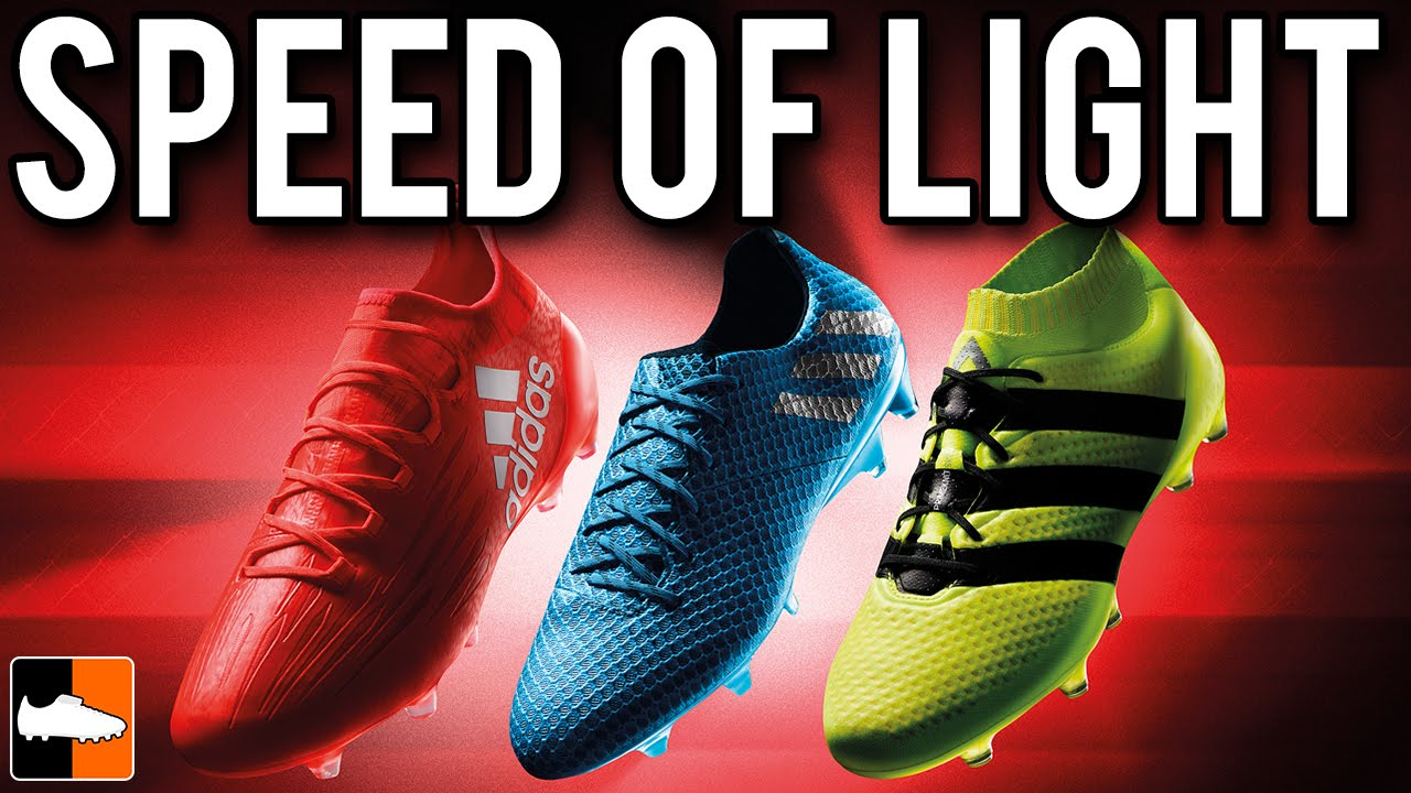 Adidas Speed Of Light Pack 2016 17 Ace16 X16 Amp Messi16