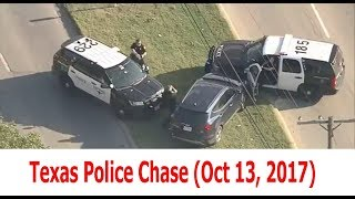 Texas Police Chase 10, 13, 2017