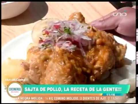 SAJA DE POLLO - Cocinero Alexander Ayala