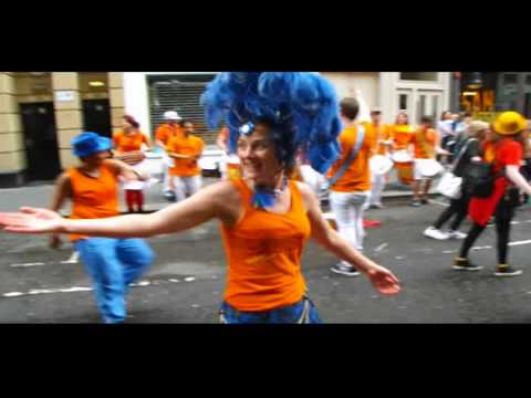 The Edinburgh Samba School at the Merchant City Festival