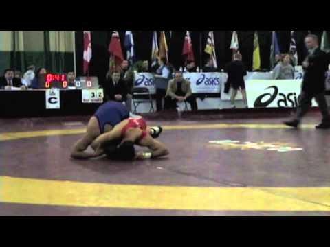 2009 Senior National Championships: 60 kg Saeed Azarbayjani vs. Santokh Singh
