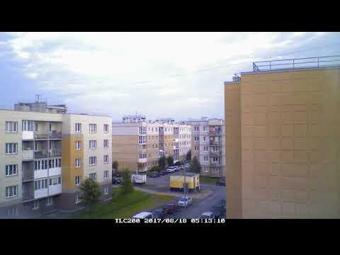 Летний денёк в Славянке, ускоренная съёмка, день за пару минут - Продолжительность: 8:20