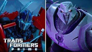 Transformers Prime Season 2 - 'Saber Fight ⚔️ : Optimus Prime vs. Megatron' Official Clip