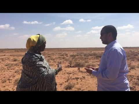 Visit to drought affected areas in Somaliland