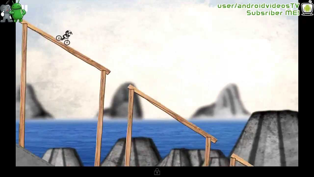 Stickman Downhill Android Gameplay 3 Youtube