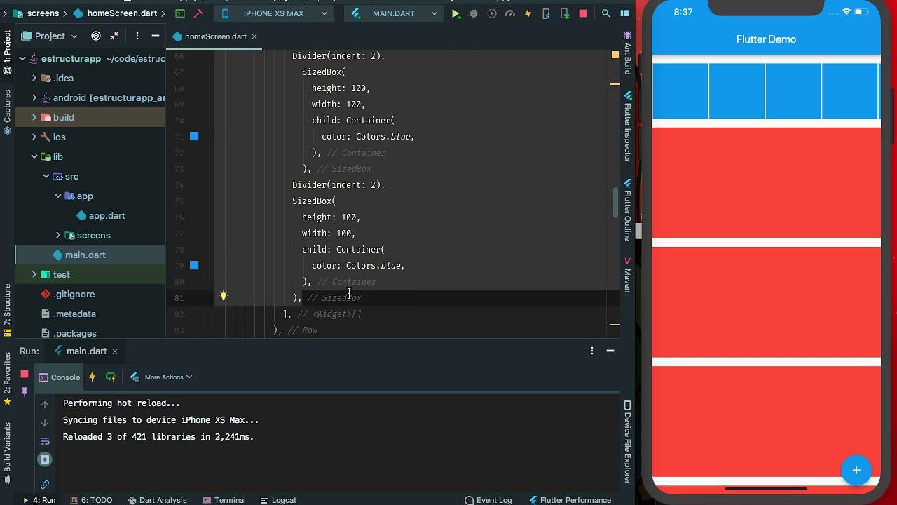 Flutter: Trabajando con Size Overflow y MediaQuery