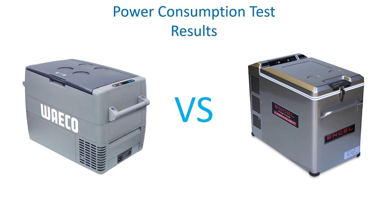 Waeco vs Engel 4wd fridge power consumption comparison