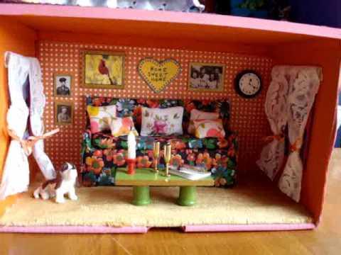 Shoebox Doll House Shoe Box Crafts Doll House Operation