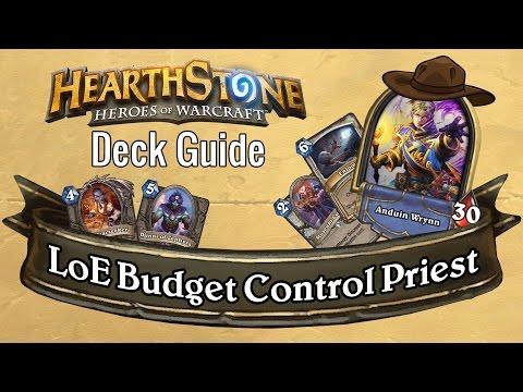LoE Budget Control Priest [Wild] - Deck Guide - Hearthstone