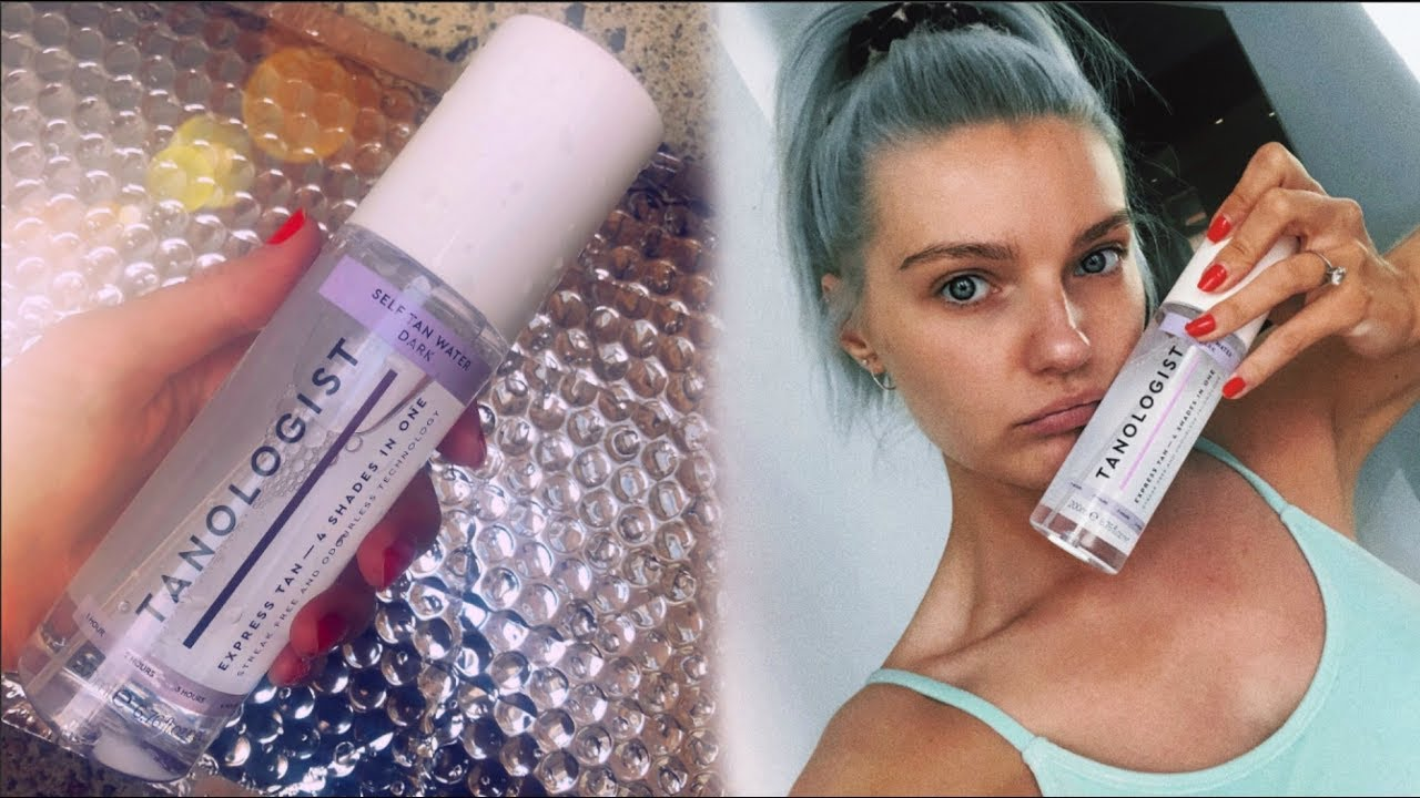 First Impressions Testing Out Tanologist By Lottie Tomlinson Lovefings Youtube