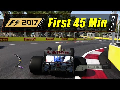 F1 2017: Special Edition (PS4) - First 45 Min (1080@60)