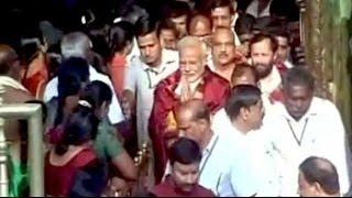 Narendra Modi visits Tirumala Tirupati temple